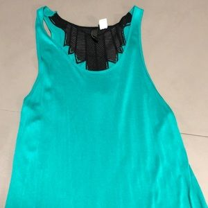 H and M maxi aqua colored